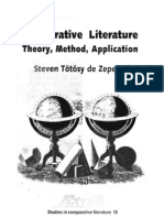 Comparative Literature Theory, Method, Application