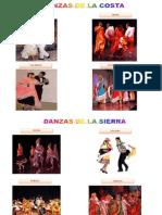 Danzas Costa Sierra y Selva
