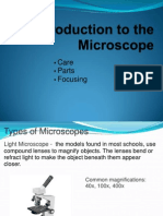 How to Correctly Use a Microscope