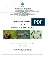 Ofidios Venenosos de Argentina