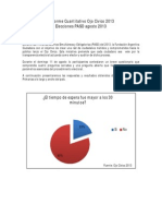 Informe Cuantitativo Ojo Cívico 2013