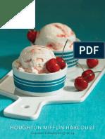Houghton Mifflin Harcourt Culinary Catalog