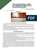 1º Encuentro Internacional sobre Protección y Bienestar Animal en la Producción Pecuaria