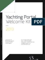 Welcome Kit Document 2013 - Yachting Portal For Joomla
