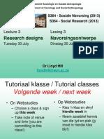 Lecture 3 Designs
