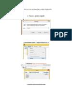 Como Cambiar Resolucion de Pantalla en Windows