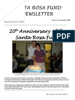 Santa Rosa Fund Newsletter Issue 32