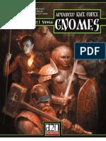 Advanced Race Codex - Gnomes