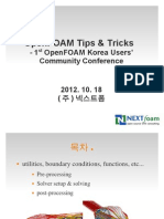 OpenFOAM Tips & Tricks