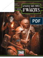 Advanced Race Codex - Dwarves