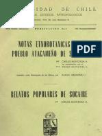 Notas etnobotanicas del pueblo atacameño de socaire