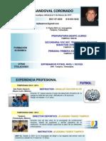 CV Manlio Favio Sandoval Coronado