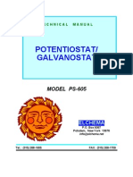 Potentiostat 605 Manual