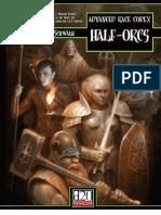 D&D 3rd Ed.-advanced Race Codex-Half-Orcs