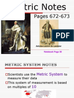 metric notes for web