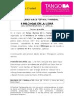 Tango Buenos Aires Festival y Mundial - 4 Milongas en la Usina.doc