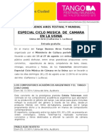 Tango Buenos Aires Festival y Mundial - Especial Ciclo Musica de Camara en la Usina.doc