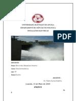 Trabalho de Intalaçoes electricas(Universidade Jean Piaget de Angola)