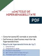 Hipersensibilitatea tip I