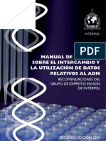 INTERPOL MANUAL DE UTILIZACIÓN DE DATOS REALTIVOS AL ADN