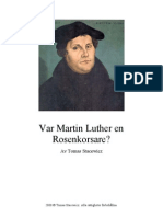 Var Martin Luther en Rosenkorsare?