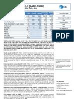 SAMP - 1H2013 Earnings Note - BUY - 27 August 2013