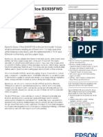 Epson Stylus Office BX935FWD Brochures 1