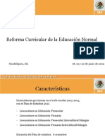 Present Ref Curric Gdl
