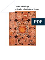 Vedic Astrology Remedies for Hurdles in Professional Succes