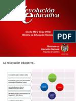 Resultados de La Revolucion Educativa 2010