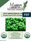 Marion Gardens Catalog 2013 PDF
