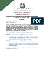 Circular 01-Respuestas PU 911-Radiocomunicación [Proyecto 911]