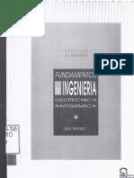 Troncoso J. - Fundamentos de Ingenieria Geotecnica Antisismica