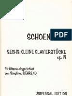 A. Schoenberg -Sechs Kleine Klavierstucke Op.19.PDF