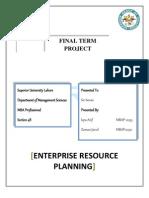 ERP Final Project Superior University