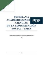 Libro Azul-comunicacion Social
