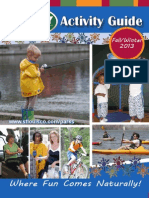 2013 Fall/Winter Activity Guide