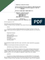 Inconstitucionalidad en Parte Del 1049 y Ds 10-2010-Jus