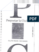 Proyectar_la_Ciudad - philippe panerai