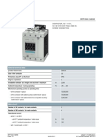 Contactor E-3 (3RT1344-1AK60) Siemens
