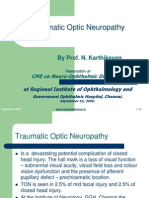 Traumatic Optic Neuropathy- Prof. N. Karthikeyan (1)