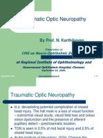 Traumatic Optic Neuropathy- Prof. N. Karthikeyan (1)