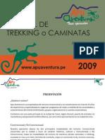 Manual 2009 Trekking - Apu Aventura