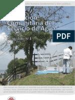 Cuadernillo Nº3 Prestación Comunitaria del Servicio de Agua