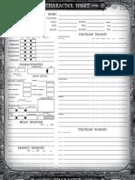 3e - Extended Character Sheet