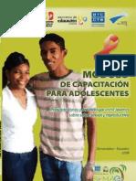 Modulo Adolescentes Baja