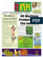 Street Hype Newspaper August 1-31, 2013
