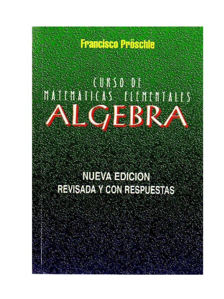 proschle algebra