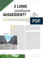 HAT DIE LINDE als Strassenbaum AUSGEDIENT? - ZEITPUNKT_130624