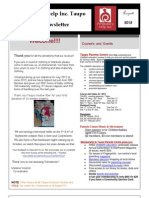 August 2013 Newsletters